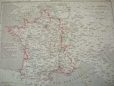 LA FRANCE à la mort de Louis XIII 1589 à 1643