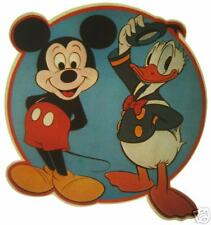 VINTAGE 70's MICKEY MOUSE &  DONALD DUCK TRANSFER