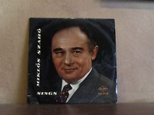 MIKLOS SZABO, SINGS -RARE HUNGARY QUALITON LP LPX 6538