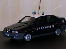 ALFA ROMEO 155 1.8 16V 1997 CARABINIERI DEAGOSTINI 1/43 BERLINE BERLINA ITALIA
