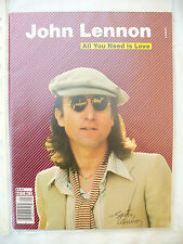 MAGAZINE JOHN LENNON ALL YOU NEED IS LOVE