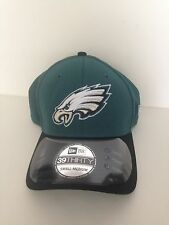 Philadelphia Eagles New Era 39Thirty 2015 Training Camp stretch fit hat S/M Gree