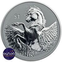 ILES VIERGES BRITANNIQUES 2020 - 1$ - Pégase - 1 oz (once) argent 999,99‰
