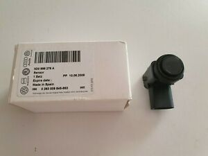 NEW GENUINE VW PHAETON GOLF MK5 TOURAN PARKING SENSOR IN BLACK - 3D0998275A