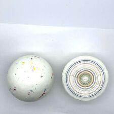 350g  X1Giant White Gobstoppers Jawbreakers Sweets Tidmans 100mm IN DIAMETER