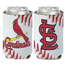 St. Louis Cardinals ~ (1) Beer Can Coolie Koozie Holder Huggie ~ 2-Sided