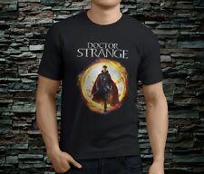 New Popular Dr Strange Marvel Super Hero Men's Black TShirt Size S-3XL