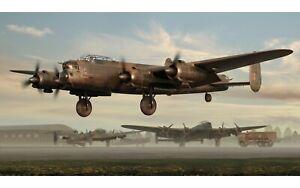 New Release Airfix 1:72nd Scale Avro Lancaster B.II Model.
