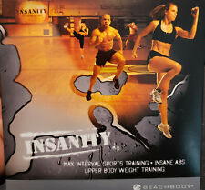 Insanity max interval sports training Dvd