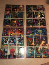 1993 Marvel Universe Series 4 Trading Cards SKYBOX HUGE 65 CARD LOT