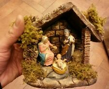 Nativita tutto in terracotta pastori 7 cm PRESEPE shereped S.GREGORIO A. crib