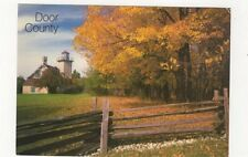 Door County Wisconsin Eagle Bluff Lighthouse Postcard USA 408a ^