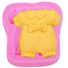 Baby Romper Silicone Mold for Fondant, Gum Paste, Chocolate, Crafts