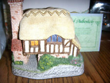 David Winter Cottage - Whileaway Mint In The Box W/ Coa