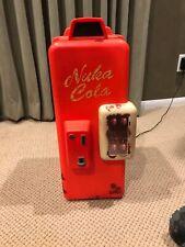 Fallout Nuka Cola Machine Mini Refrigerator. Rare. Used.