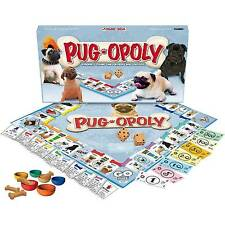 Late for The Sky Pug Pug-opoly Board Game