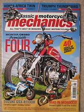 Classic Motorcycle Mechanics May 2017 Honda CB350 Africa Twin GSX-R1100H TZR250
