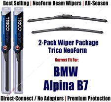 2-Pack Super-Premium NeoForm Wipers fit 2017+ BMW Alpina B7 - 162515/1915