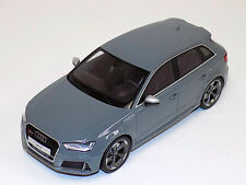 1/18 GT Spirit 2015 Audi A3 RS3 Sportback in Grey GT095