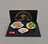 9911075 Reutter Puppenstuben-Miniatur Porzellan Sandwichmaker