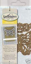Spellbinders Die d-lites Corte Repujar esténcil indignante Mariposa s2-069 2pc