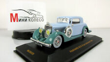 Scale model car 1:43, Panhard 6CS, green - light blue, 1935
