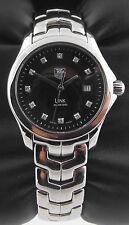 WJF131H.BA0572 Tag Heuer Link Ladies Black Diamond Quartz Luxury Swiss Watch