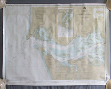 2001 Columbia River Pacific Ocean to Harrington Point Soundings in Fathoms Chart