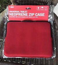 10.1 Neoprene Zip Tablet Case Sleeve Cover Ipad Samsung Galaxy Motorola Xoom