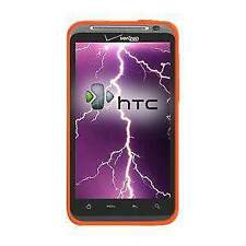 AMZER Silicone Soft Skin Jelly Case Cover For HTC ThunderBolt ADR6400 - Orange