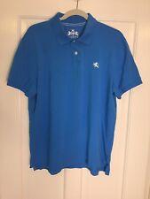 Express Men's Bold Blue Polo Shirt Size XL Modern Fit, Rugby