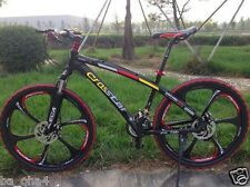 "26"" 21 speed mountain bike cycling road bicycle double disc brake men & women"