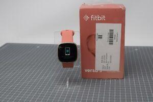 FAULTY Fitbit Versa 3 GPS, Heart Rate & Fitness Smart Watch - WIE80