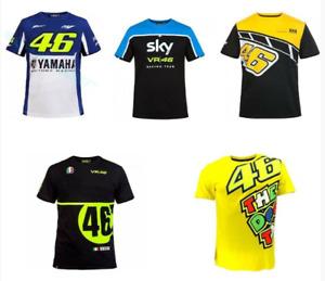VR46 Yamaha T-Shirt Valentino Rossi Moto Motorcycle Racing MotoGP QuickDry Shirt