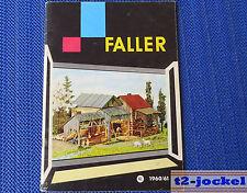 Faller Modellismo Catalogo 1960/61, 54-seitig - Lingua Olandese