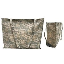 """Large Reusable Grocery Shopping Totes Bags Gusset Digital Camo Camouflage 20x16"""""""