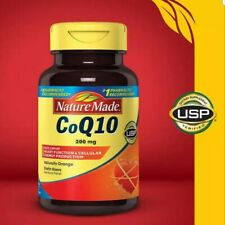 Nature Made CoQ10 200 mg, 140 Softgels ** Naturally Orange, Healthy Heart **