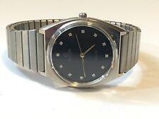 Vintage Men's Elgin Silver Tone Quartz Dress Watch (EQW)