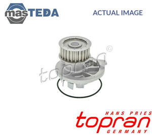 TOPRAN ENGINE COOLING WATER PUMP 202 283 P NEW OE REPLACEMENT