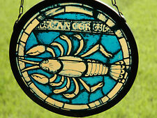 VITRAIL le cancer BUNTGLAS signe astrologique STAINED GLASS astrological signs