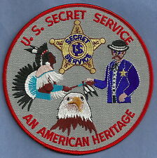 UNITED STATES SECRET SERVICE AMERICAN HERITAGE POLICE PATCH