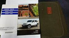 2015 JEEP WRANGLER OWNERS GUIDE AND CASE