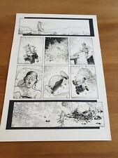 More details for missionary man alex ronald original art 2000ad