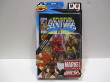 MARVEL UNIVERSE COMIC 2 PACK SECRET WARS 2 WOLVERINE & HUMAN TORCH
