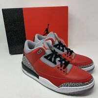 Air Jordan 3 III Retro SE Unite Fire Red Cement CK5692-600 Size 10 Deadstock