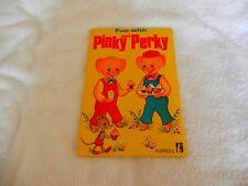 "PINKY and PERKY - Hardback book ""Fun with Pinky & Perky"" - 1970"