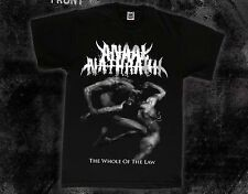 ANAAL NATHRAKH-The Whole of the Law-Grindcore band- ,T-shirt-SIZES: S to 7XL
