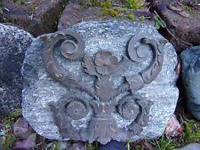 beautiful antique brass architectural accent piece~salvage~garden~repurpose~art~