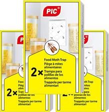 PIC Pièges  Mites Alimentaires Paquet Triple = 6 pièges Anti Mites - Piège  ph