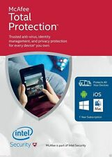 McAfee Total Protection Antivirus Software 2020 10 Year 1 PC Ínstant dєlivery